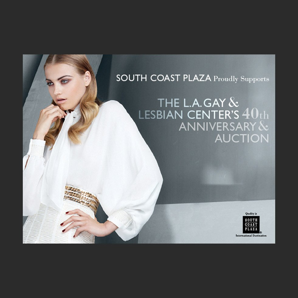 Ad | Design | South Coast Plaza