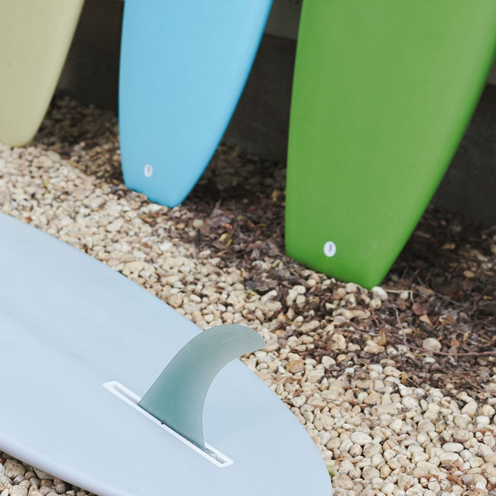 Surfboards by JD San Jose photo by Julien Roubinet