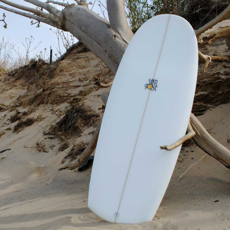 "5'0"" Mini Simmons Surfboard by JD San Jose"